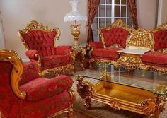 Victorian Mola Bedroom Set : Victorian Furniture  Furniture-Victorian