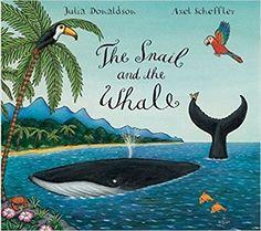 The Snail and the Whale: Amazon.co.uk: Julia Donaldson, Axel Scheffler: 9780333982242: Books