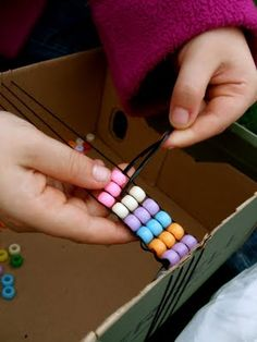 Bead Weaving With Children - might use this when I teach Sign of the Beaver or other books including Indian culture