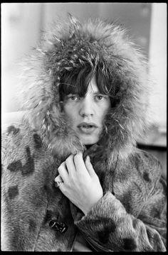 Mick Jagger photographed byTerry O'Neill.