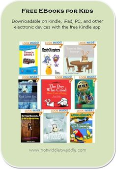 Today's list of free kids' ebooks has a couple tween novels and several fun picture books. Download while they are still free.