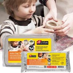 Made in Japan Air Dry Natural Stone Modeling Clay Fine Grained Non-Toxic Art