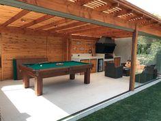 Take a peek at these Almost a dozen hints all regarding Backyard Pavilion, Casa Patio, Backyard Covered Patios, Backyard Patio Designs, Deck Design, House Design, Deck With Pergola, Diy Deck, Home Design Decor