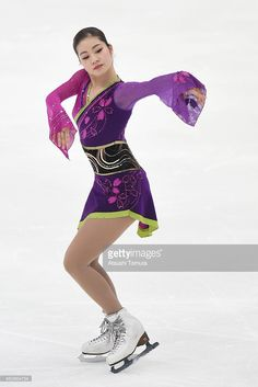 Saya Ueno of Japan competes in Ladie's Free Skating during the 83rd All Japan Figure Skating Championships at the Big Hat on December 28, 2014 in Nagano, Japan.