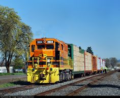 RailPictures.Net Photo: CORP 2024 Central Oregon & Pacific Railroad EMD GP38 at Creswell, Oregon by Randy Johnson