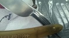 James Barlow Sheffield The Old English Horn Scale Shave Ready Straight Razor | eBay