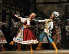 The Mazurka (Mazur or Mazurek in Polish) is a lively Polish folk dance, in triple time, intended for a circle of couples and characterized by the stamping of feet and clicking of heels, traditionally danced to the music of a village band. Royal Ballet, Ballet Du Bolchoï, Bolshoi Ballet, Ballet Tutu, Ballet Dance, Day Of Dead, Alvin Ailey, Dark Fantasy Art, Boris Vallejo
