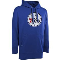 8307a8edc Antigua Philadelphia 76ers Signature Pullover Hoodie - Royal Blue. Mens  Sweatshirts ...