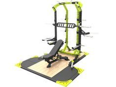 Titan fitness Thd Line Half rack Workout Meal Plan, Workout Gear, No Equipment Workout, Gym Workouts, Fitness Equipment, Home Gym Garage, Gym Room At Home, Workout Stations, Gym Setup