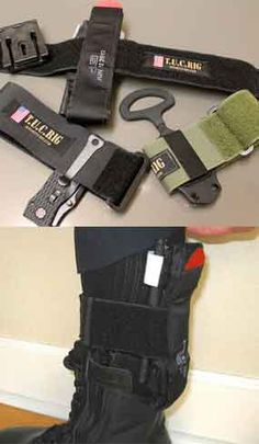 For Cops, By Cops: Strap on survival equipment with the T.U.C. Rig
