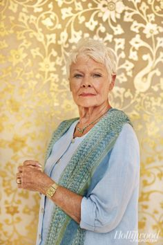 Judi Dench on Beating Failing Eyesight, Bad Knees and Retirement