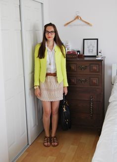 how to wear neon with neutrals