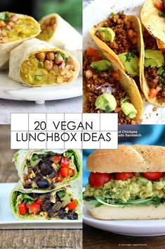 20 Vegan Lunch box I