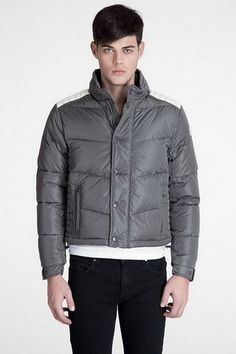 Buy Moncler Austin Men Down Jacket Grey Free Shipping - $194.65 Buy cheap Moncler Coat by www.monclerlines....