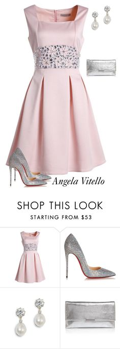 """Untitled #873"" by angela-vitello on Polyvore featuring Christian Louboutin and Loeffler Randall"