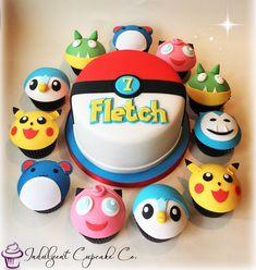Pokémon cake & cupcakes......
