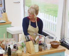 Joanna Lumley demonstrates the versatility of the Quooker Fusion on The Great Comic Relief Bakeoff, as she washes her hands under the same tap that also delivers boiling and cold water.