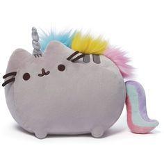 Pusheen Unicorn Plush (€23) ❤ liked on Polyvore featuring random and toys