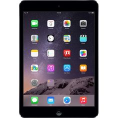 iPad® mini 2 has a stunning 7.9-inch Retina display with over 3.1 million pixels. It also comes with the A7 chip with 64-bit architecture, ultrafast wireless, iSight and FaceTime HD cameras, powerful apps, and up to 10 hours of battery life.1 Yet it still fits easily in one hand.