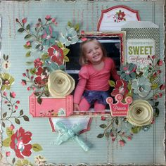 My Creative Scrapbook Limited Edition July kit reveal Websters Pages Plum Seed collection