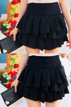 Today's Hot Pick :◆甜美百搭◆纯色层叠荷叶边短裙 http://fashionstylep.com/P0000LCI/marlangrouge/out 设计理念——缤纷夏日,短裙就以甜美婉约,带着几许诱人妩媚的曼妙姿态带来一抹浪漫迷人的色彩~ 推荐理由——荷叶边多层裙摆设计,营造出十足的立体感,为你甜美气质加分哦! 搭配建议——超级百搭的款式,可随您的搭配爱好任意搭配,绝对能给你一个惊喜! -短裙- -纯色- -荷叶边-