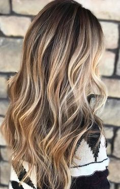 Best Hair Color Ideas 2017 / 2018 Description beige and bronde highlights - great hair color blog