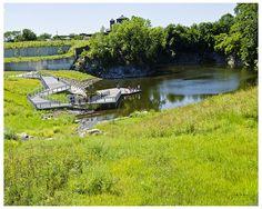 Pond - Henry Palmisano Park by swanksalot, via Flickr