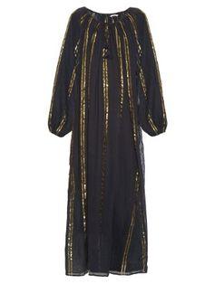 Byzantine striped cotton-gauze dress | Mes Demoiselles | MATCHESFASHION.COM