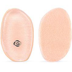3pc Random Color Leaf Shaped Transparents Silicone Cosmetics Sponge Makeup Puff Liquid Foundation Bb Cream Beauty Tool Beauty Essentials Beauty & Health