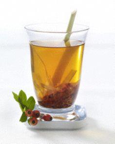Hagebutte-Zitronengras-Tee-Schlank-Tee