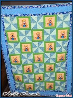 Baby Items, Baby Quilts, Applique, Quilting, Blanket, Kids, Crafts, Bebe, Young Children