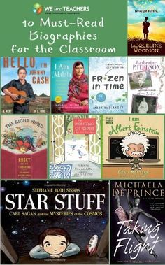 10 Must-Read Biographies for the Classroom