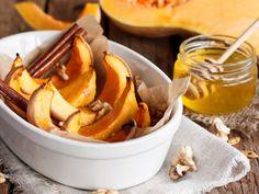 Dynia pieczona z miodem i orzechami Carrots, Honey, Vegetables, Den, Clean Foods, Food Food, Health, Tips, Autumn