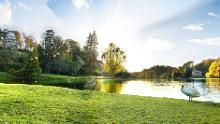 Get outdoors in the beautiful landscape garden at Stourhead this summer