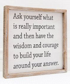 Another great find on #zulily! 'Wisdom and Courage' Framed Wall Sign #zulilyfinds