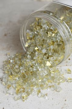 Glass Crushed 5-8mm 46oz Gold