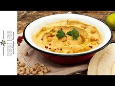 Χούμους  Νεκταρία Κοκκινάκη - YouTube Cheeseburger Chowder, Thai Red Curry, Soup, Ethnic Recipes, Youtube, Soups, Youtubers, Youtube Movies