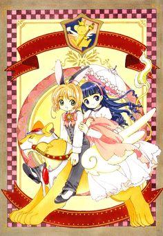 Sakura Kinomoto (木之本さくら) & Tomoyo Daidouji (大道寺知世) | Cardcaptor Sakura (カードキャプターさくら), CCS, Cardcaptors, Card Captor Sakura | CLAMP