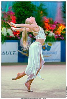 Kseniya Moustafaeva, Gala de cloture du 40ème Internationaux GR Corbeil Essonne | by Olivier PRIEUR
