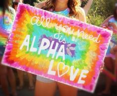 all you need is alpha love :) AOII