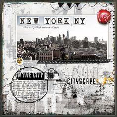 New York, NY. Digi Cityscape