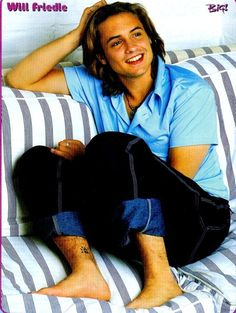 Yep, I am pretty much head over heels for Will Friedle <3