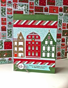 The Speckled Sparrow: 12 Weeks Of Christmas: Week 7 - Nordic Noel Quick Card