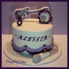 Violetta Cake, Princess Sofia, Birthday Cake, Facebook, Desserts, Pie Cake, Party, Tailgate Desserts, Birthday Cakes
