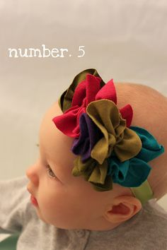 ~Several flowered headbands - have to scroll way way down to get to headband stuff