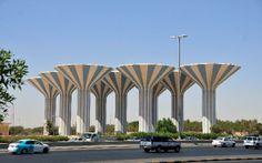 Water Towers Kuwait ( Mushroom  Style )