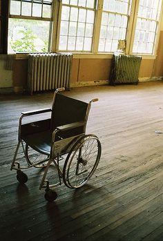 """Frail ~  Abandoned school in Rowan County North Carolina"""