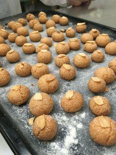 Biscoito de Amêndoas! #lovecook