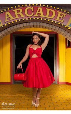 Renee Dress in Red