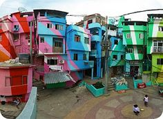 Painting the favela in Rio